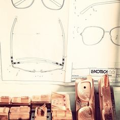 from the sketches to the molds    follow us on http://instagram.com/luxotticagroup