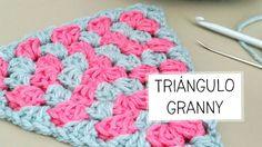Triángulo Granny a Crochet - PASO A PASO