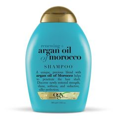 OGX Renewing Argan Oil of Morocco Shampoo (drugstore brands stylists love) you can get this shampoo at many stores such as Ulta, Walgreens, etc. I had some hair loss prior to using this I am not sure why. Now my hair has grown back thick, beautiful, and I barely need to use the straightener on it after using this shampoo and the OGX argan Oil of Morocco Conditioner. This sulfite free shampoo. It is great for your hair. The argan oil helps! The line also has a Keratin Shampoo which is great…