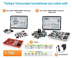 Türkiye Turnuvaları'na katılmak için robot seti