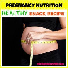Yummy and easy snack to make for a healthy pregnancy diet. This is perfect for on the go snacks or even middle of the night snacks when you get up for the bathroom and your starved.
