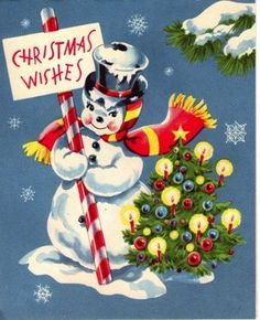Christmas Wishes From Frosty