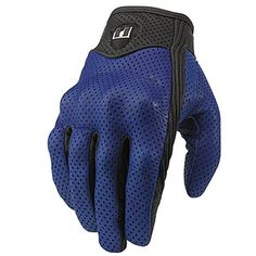 Icon Pursuit Perforated Gloves - Street Motorcycle - Motorcycle Superstore