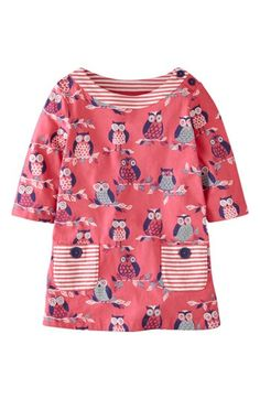 Mini Boden Print Tunic Top (Little Girls & Big Girls) available at #Nordstrom