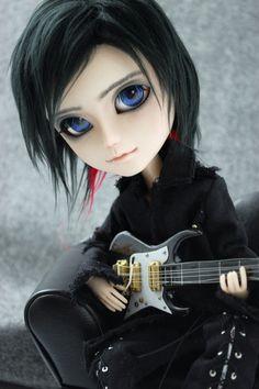 OMG it's an OOAK Jared Leto doll!! Taeyang Custom