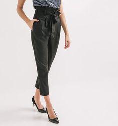 Pantaloni+vita+alta
