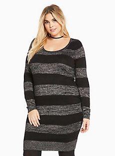 Lurex Sweater Dress
