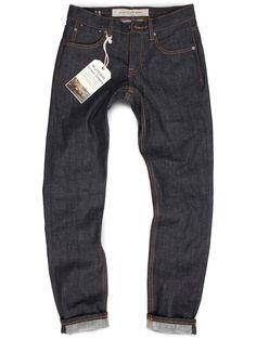 Raw Dark Denim Grand Street Jeans
