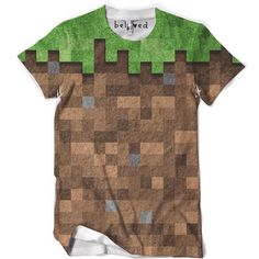 I need this I've always wanted a minecraft shirt