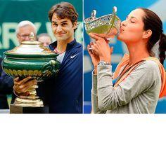 Roger Federer and Ana Ivanovic Tennis News, Ana Ivanovic, Sports Photos, Roger Federer, Winter Olympics, Winter Sports, Winter Olympic Games, Winter Sport