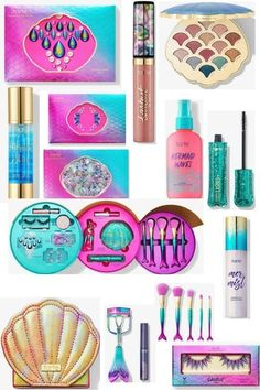 who else is swooning over Tarte's new collection? I know I am! Watch out Ariel!! #tarte #fashion #style #beautyblog #mermaid #makeup #ShopStyle #shopthelook #SpringStyle #MyShopStyle #SummerStyle #BirthdayParty #BeachVacation #FestivalLooks #NYFW #GirlsNightOut #OOTD #WeekendLook