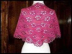 """Anemone Fields"" knit in 75% Merino / 25% Nylon fingering weight yarn (pattern by Mia Rinde)"