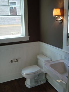 Small Bathroom Remodel Wainscoting updated 1930's style bathroom   for the home   pinterest   1930s