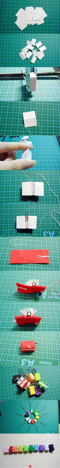 Tiny Book #Tutorial - Fill it with some sewing secrets!