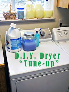 "Give Your Clothes Dryer a ""Tune-Up""!"