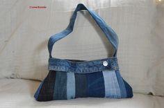 borsetta jeans multicolor