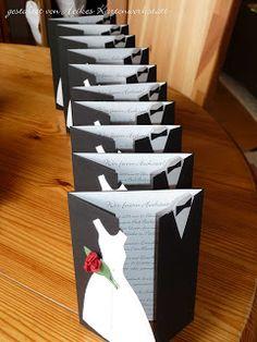 Heikes Kartenwerkstatt: Hochzeitseinladungen