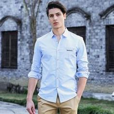 Casual Shirt Long Sleeve Slim Fit