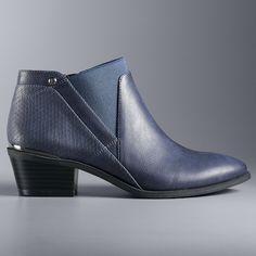 ca641de9caa22 Simply Vera Vera Wang Skylark Women's Ankle Boots Skylark, Simply Vera, Vera  Wang,