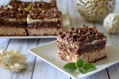 Zdjęcie: Ciasto Rocher – bez pieczenia Nutella, Tiramisu, Cooking Recipes, Ethnic Recipes, Chef Recipes, Tiramisu Cake, Recipes