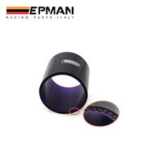 """AUTOFAB - EPMAN Straight Silicone Hose 3"""" 76mm 3-Ply Intercooler Coupler Tube Pipe Black Color EP-ESS0R76"""