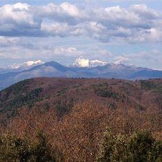 Le Alpi #Apuane viste dal Monte Pisano