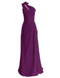 Diyouth One Shoulder Bows Long Bridesmaid Dress Grape Size 2 Diyouth http://www.amazon.com/dp/B00LQMQB1I/ref=cm_sw_r_pi_dp_zSWeub05BVC0S