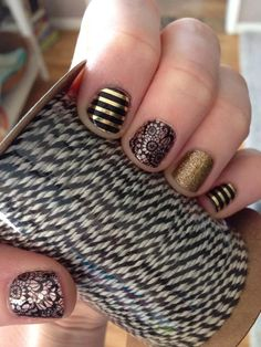 So many possibilities! I love how you can make your Mani interesting! Not just one color anymore! http://www.erincronquist.jamberrynails.net/
