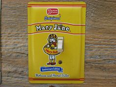 Switch plate for Mary Jane made from a Necco candy tin by tincansally