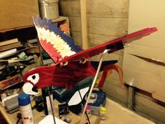 I made this Scarlet Macaw Whirligig for the Whirligig Wars 2015 contest,I found it hard to build and it took one completely different idea that totally faile...