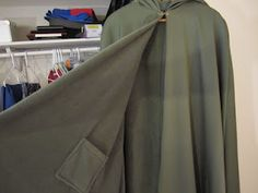 Cloaks for our hobbit/dwarf costumes are done! Yay!