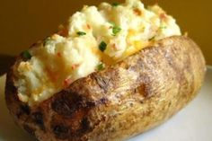 Weight Watchers Loaded Baked Potatoes