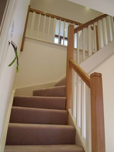 Santer Joinery specialise in the manufacture of purpose made timber staircases. Staircase example is Lewes Road for Mr James in May House Staircase, Stair Case, Bannister, Terraced House, Stairway To Heaven, Beautiful Bedrooms, Hallways, Stairways