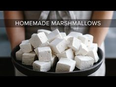 These healthy (or healthier) homemade marshmallows use honey or maple syrup instead of corn syrup and grass-fed gelatin. They're paleo marshmallows!