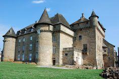 Château de Lacapelle-Marival. Lacapelle-Marival 46120. Guyenne.