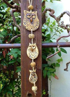 http://de.dawanda.com/product/65953615-Eule-Windspiel-Gartenkeramik-Unikat
