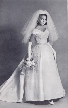 Vintage Wedding dress 1963