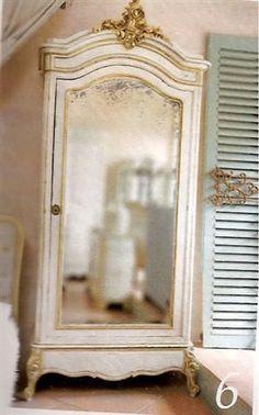 an impressive antique Armoire