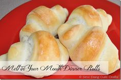 Melt in your Mouth Dinner Rolls