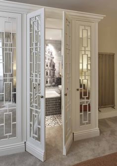 Luxury, bespoke wardrobes in South Kensington London from The Heritage Wardrobe Company. Luxury, bespoke wardrobes in South Kensington London from The Heritage Wardrobe Company. House Design, Interior Design, House Interior, Home, House, Interior, Wardrobe Doors, Door Design, Doors Interior