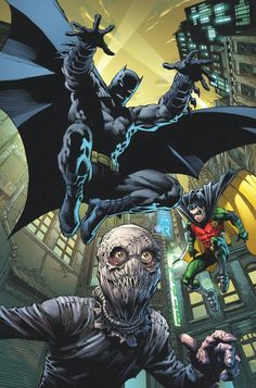 Batman Eternal - Robin and Scarecrow by David Finch                                                                                                                                                                                 More
