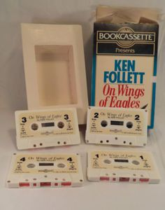 On-Wings-of-Eagles-By-Ken-Follett-Fiction-Audio-Book-4-Cassette