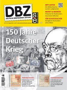 Bismarck und Briefmarken: viele Themen in der neuen DBZ 18/2016