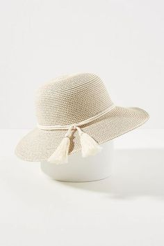 7 of the Best Sun Hats with Full Sun Protection Floppy Straw Hat, Sun Protection Hat, Wide Brim Sun Hat, Elastic Headbands, Stripes Design, Sun Hats, Hand Crochet, Vogue, Clothes