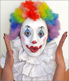 170 best really beautiful clowns images  female clown