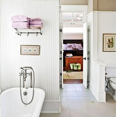 Lilac in the Bathroom — Southern Living