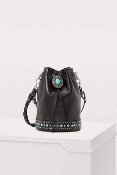 d60d4d05cf6a Buy Prada Folk bucket bag online on 24 Sèvres. Shop the latest trends -  Express delivery & free returns