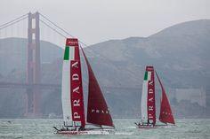 Luna Rossa Challenge + Golden Gate Bridge