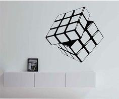 Rubik's Cube Vinyl Wall Decal Sticker Art Decor by StateOfTheWall