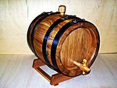 1961 - Botte in legno da 8 litri per invecchiamento grappa, nocino e distillati - Tel.0547 310171